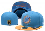 Wholesale Cheap Miami Dolphins fitted hats 01
