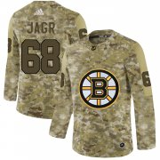 Wholesale Cheap Adidas Bruins #68 Jaromir Jagr Camo Authentic Stitched NHL Jersey