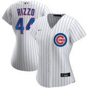 Wholesale Cheap Chicago Cubs #44 Anthony Rizzo Nike Women's Home 2020 MLB Player Jersey White