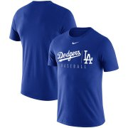 Wholesale Cheap Los Angeles Dodgers Nike MLB Practice T-Shirt Royal
