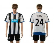 Wholesale Cheap Newcastle #24 Tiote Home Soccer Club Jersey
