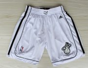 Wholesale Cheap Miami Heat All White Short