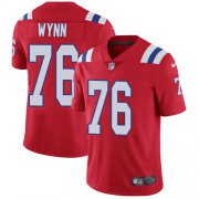 Wholesale Cheap Nike Patriots #76 Isaiah Wynn Red Alternate Youth Stitched NFL Vapor Untouchable Limited Jersey