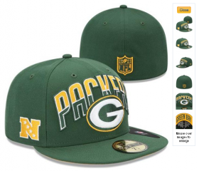 Wholesale Cheap Green Bay Packers fitted hats 05