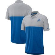 Wholesale Cheap Detroit Lions Nike Sideline Early Season Performance Polo Gray Blue