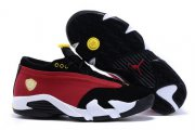 Wholesale Cheap Women's Air Jordan 14 Shoes Scarlet/black-white