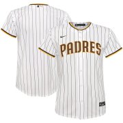 Wholesale Cheap San Diego Padres Nike Youth Home 2020 MLB Team Jersey White