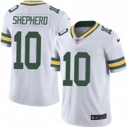 Wholesale Cheap Nike Packers #10 Darrius Shepherd White Men's Stitched NFL Vapor Untouchable Limited Jersey