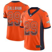 Wholesale Cheap Nike Broncos #29 Bryce Callahan Orange Team Color Men's Stitched NFL Limited Rush Drift Fashion Jersey