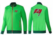 Wholesale Cheap NFL Tampa Bay Buccaneers Team Logo Jacket Green