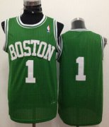 Wholesale Cheap Boston Celtics #1 Walter Brown Green Swingman Throwback Jersey