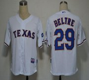Wholesale Rangers #29 Adrian Beltre White Cool Base Stitched Baseball Jersey