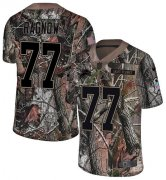 Wholesale Cheap Nike Lions #77 Frank Ragnow Camo Youth Stitched NFL Limited Rush Realtree Jersey