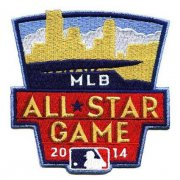 Wholesale Cheap Stitched 2014 MLB All-Star Game Jersey Patch In Minnesota Twins (Target Field)