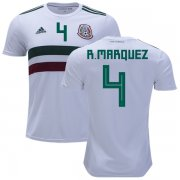Wholesale Cheap Mexico #4 R.Marquez Away Kid Soccer Country Jersey