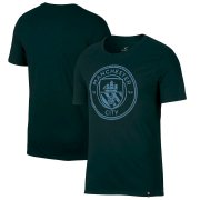 Wholesale Cheap Manchester City Nike Team Crest T-Shirt Green