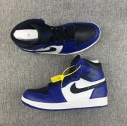 Wholesale Cheap Air Jordan 1 Rare Air fragment royal Shoes Blue/White-Black