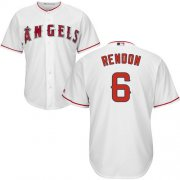 Wholesale Cheap Angels of Anaheim #6 Anthony Rendon White New Cool Base Stitched MLB Jersey