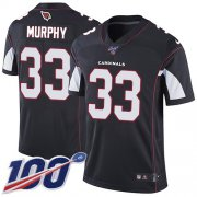 Wholesale Cheap Nike Cardinals #33 Byron Murphy Black Alternate Men's Stitched NFL 100th Season Vapor Limited Jersey
