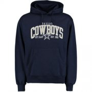 Wholesale Cheap Dallas Cowboys Kestrel Pullover Hoodie Navy
