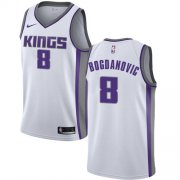 Wholesale Cheap Women's Sacramento Kings #8 Bogdan Bogdanovic White Basketball Swingman Association Edition Jersey