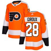 Wholesale Cheap Adidas Flyers #28 Claude Giroux Orange Home Authentic Stitched Youth NHL Jersey