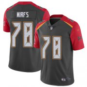 Wholesale Cheap Nike Buccaneers #78 Tristan Wirfs Gray Youth Stitched NFL Limited Inverted Legend Jersey