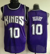 Wholesale Cheap Sacramento Kings #10 Mike Bibby Purple Swingman Jersey