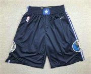 Wholesale Cheap Men's Dallas Mavericks NEW Navy Blue 2020 NBA Swingman Stitched NBA Shorts