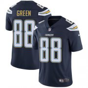 Wholesale Cheap Nike Chargers #88 Virgil Green Navy Blue Team Color Men's Stitched NFL Vapor Untouchable Limited Jersey
