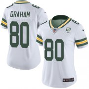 Wholesale Cheap Nike Packers #80 Jimmy Graham White Women's 100th Season Stitched NFL Vapor Untouchable Limited Jersey