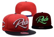 Wholesale Cheap MLB Cincinnati Reds Adjustable Snapback Hat YD16062713