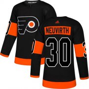 Wholesale Cheap Adidas Flyers #30 Michal Neuvirth Black Alternate Authentic Stitched NHL Jersey