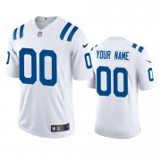 Wholesale Cheap Indianapolis Colts Custom Men's Nike White 2020 Vapor Limited Jersey