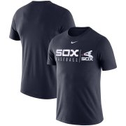Wholesale Cheap Chicago White Sox Nike MLB Practice T-Shirt Navy