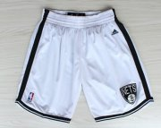 Wholesale Cheap Brooklyn Nets White Short