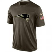 Wholesale Men's New England Patriots Salute To Service Nike Dri-FIT T-Shirt