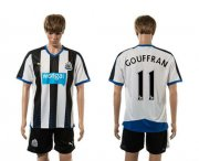 Wholesale Cheap Newcastle #11 Gouffran Home Soccer Club Jersey