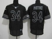 Wholesale Cheap Nike Bears #34 Walter Payton Black Shadow Men's Stitched NFL Elite Jersey