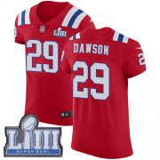 Wholesale Cheap Nike Patriots #29 Duke Dawson Red Alternate Super Bowl LIII Bound Men's Stitched NFL Vapor Untouchable Elite Jersey