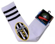 Wholesale Cheap Juventus Soccer Football Sock White