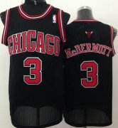 Wholesale Cheap Chicago Bulls #3 Doug McDermott Black Swingman Jersey
