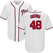 Wholesale Cheap Nationals #48 Javy Guerra White New Cool Base Stitched Youth MLB Jersey