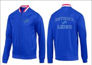 Wholesale Cheap NFL Detroit Lions Heart Jacket Blue_1