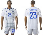 Wholesale Cheap Bosnia Herzegovina #23 Salihovic Away Soccer Country Jersey
