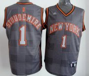 Wholesale Cheap New York Knicks #1 Amare Stoudemire Black Rhythm Fashion Jersey