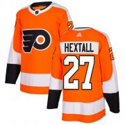 Wholesale Cheap Adidas Flyers #27 Ron Hextall Orange Home Authentic Stitched NHL Jersey
