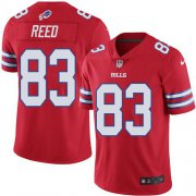 Wholesale Cheap Nike Bills #83 Andre Reed Red Men's Stitched NFL Elite Rush Jersey