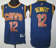 Wholesale Cheap Cleveland Cavaliers #12 Anthony Bennett Revolution 30 Swingman Navy Blue Jersey