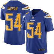 Wholesale Cheap Nike Chargers #54 Melvin Ingram Electric Blue Youth Stitched NFL Limited Rush Jersey